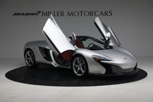 Used 2015 McLaren 650S Spider for sale $179,990 at Rolls-Royce Motor Cars Greenwich in Greenwich CT 06830 19