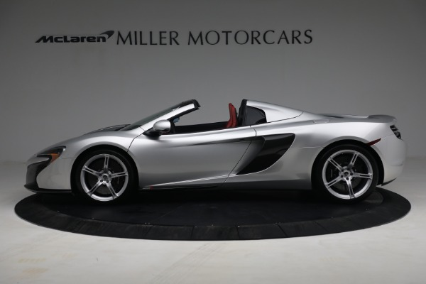 Used 2015 McLaren 650S Spider for sale $179,990 at Rolls-Royce Motor Cars Greenwich in Greenwich CT 06830 2