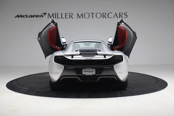 Used 2015 McLaren 650S Spider for sale $179,990 at Rolls-Royce Motor Cars Greenwich in Greenwich CT 06830 24