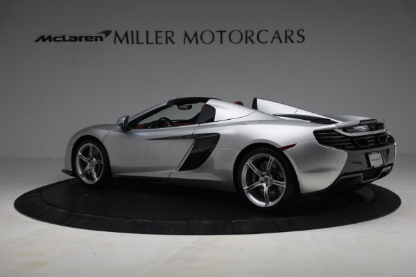 Used 2015 McLaren 650S Spider for sale $179,990 at Rolls-Royce Motor Cars Greenwich in Greenwich CT 06830 3
