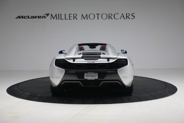 Used 2015 McLaren 650S Spider for sale $179,990 at Rolls-Royce Motor Cars Greenwich in Greenwich CT 06830 5