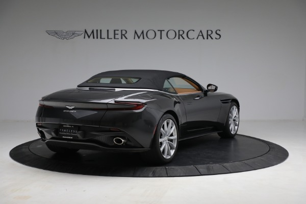 Used 2019 Aston Martin DB11 Volante for sale $212,990 at Rolls-Royce Motor Cars Greenwich in Greenwich CT 06830 16