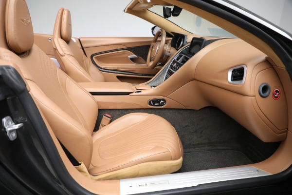 Used 2019 Aston Martin DB11 Volante for sale $212,990 at Rolls-Royce Motor Cars Greenwich in Greenwich CT 06830 25