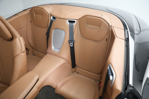 Used 2019 Aston Martin DB11 Volante for sale $212,990 at Rolls-Royce Motor Cars Greenwich in Greenwich CT 06830 26