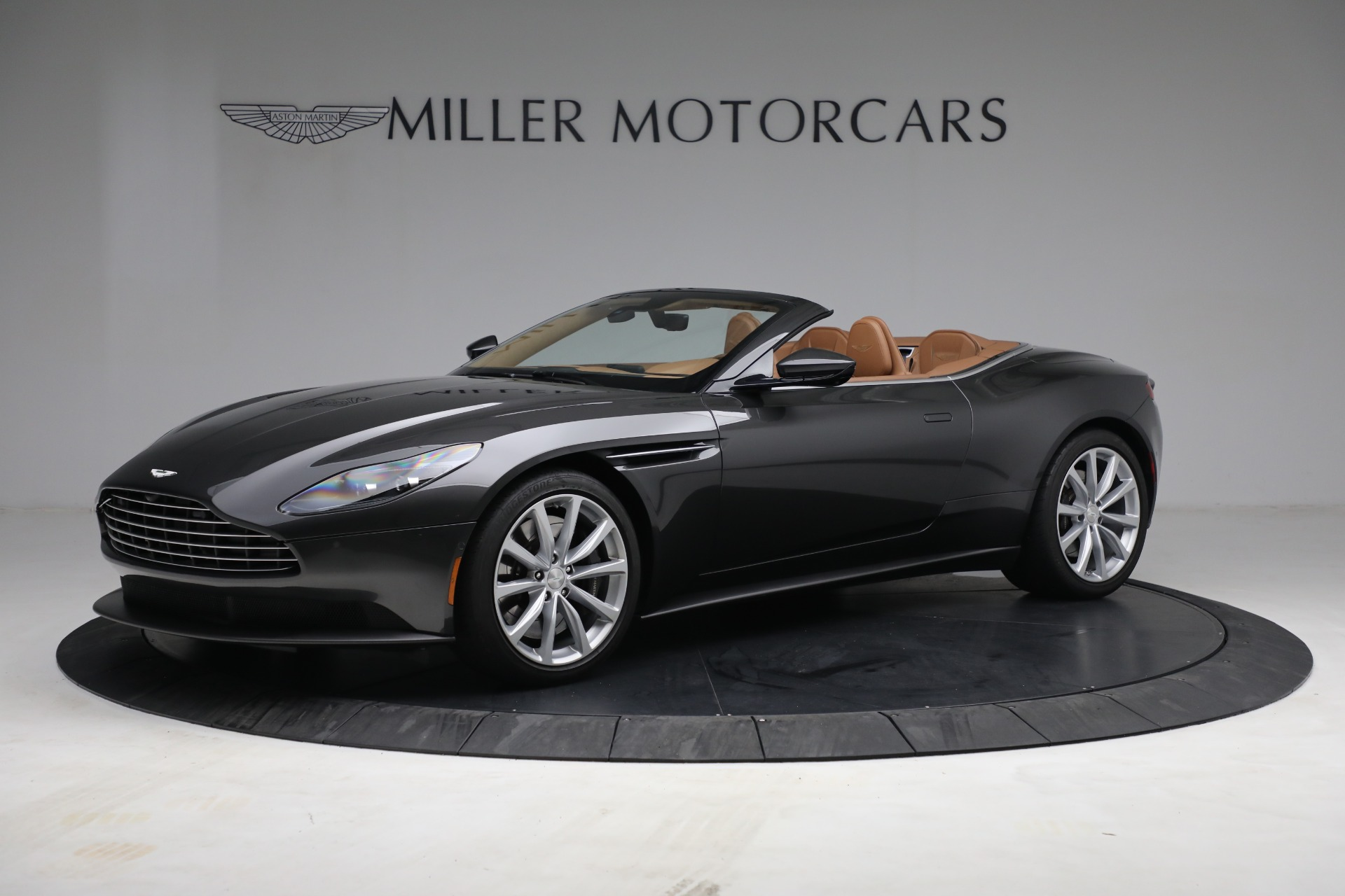 Used 2019 Aston Martin DB11 Volante for sale $212,990 at Rolls-Royce Motor Cars Greenwich in Greenwich CT 06830 1