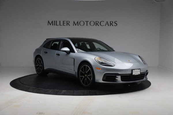 Used 2018 Porsche Panamera 4 Sport Turismo for sale Call for price at Rolls-Royce Motor Cars Greenwich in Greenwich CT 06830 11