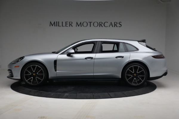 Used 2018 Porsche Panamera 4 Sport Turismo for sale Call for price at Rolls-Royce Motor Cars Greenwich in Greenwich CT 06830 3