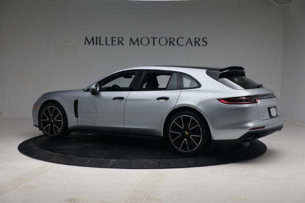 Used 2018 Porsche Panamera 4 Sport Turismo for sale Call for price at Rolls-Royce Motor Cars Greenwich in Greenwich CT 06830 4