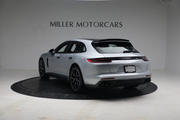 Used 2018 Porsche Panamera 4 Sport Turismo for sale Call for price at Rolls-Royce Motor Cars Greenwich in Greenwich CT 06830 5