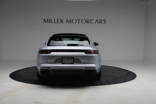 Used 2018 Porsche Panamera 4 Sport Turismo for sale Call for price at Rolls-Royce Motor Cars Greenwich in Greenwich CT 06830 6