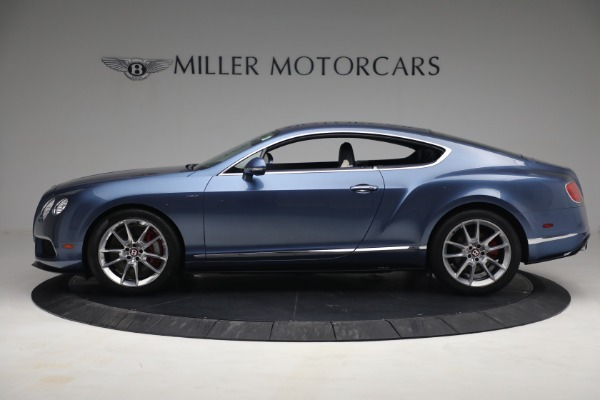Used 2015 Bentley Continental GT V8 S for sale $119,900 at Rolls-Royce Motor Cars Greenwich in Greenwich CT 06830 3