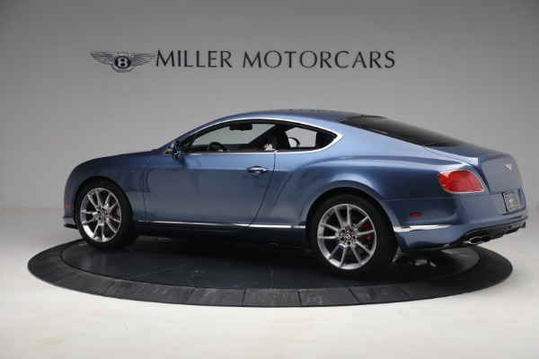 Used 2015 Bentley Continental GT V8 S for sale $119,900 at Rolls-Royce Motor Cars Greenwich in Greenwich CT 06830 4