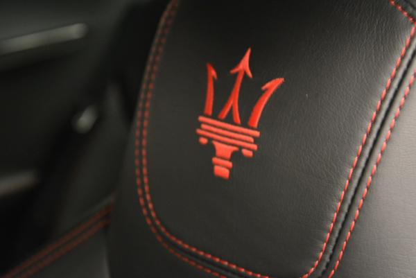 Used 2014 Maserati GranTurismo MC for sale Sold at Rolls-Royce Motor Cars Greenwich in Greenwich CT 06830 23