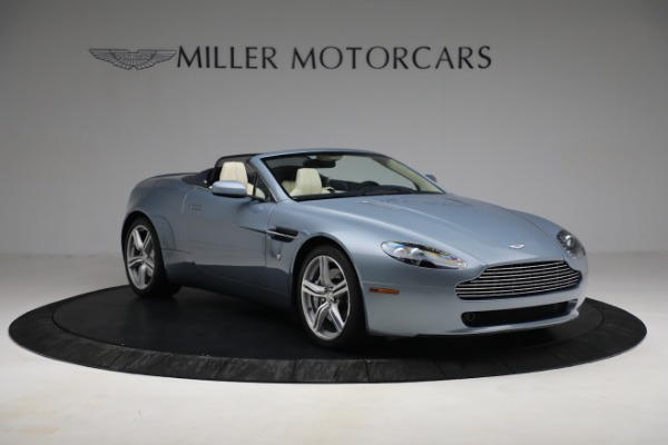 Used 2009 Aston Martin V8 Vantage Roadster for sale Call for price at Rolls-Royce Motor Cars Greenwich in Greenwich CT 06830 10