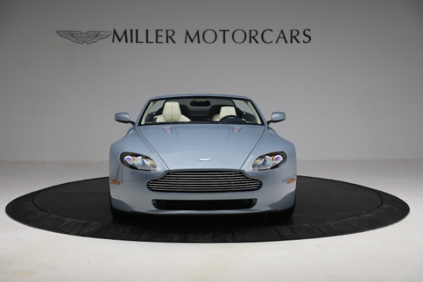 Used 2009 Aston Martin V8 Vantage Roadster for sale Call for price at Rolls-Royce Motor Cars Greenwich in Greenwich CT 06830 11