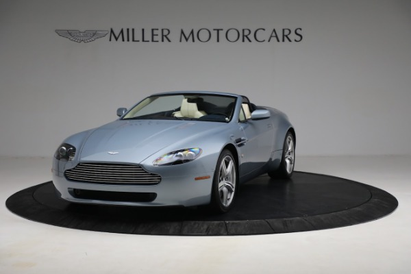Used 2009 Aston Martin V8 Vantage Roadster for sale Call for price at Rolls-Royce Motor Cars Greenwich in Greenwich CT 06830 12