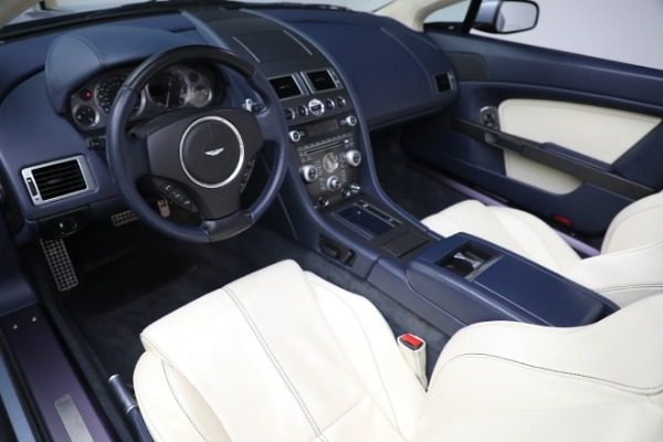 Used 2009 Aston Martin V8 Vantage Roadster for sale Call for price at Rolls-Royce Motor Cars Greenwich in Greenwich CT 06830 13