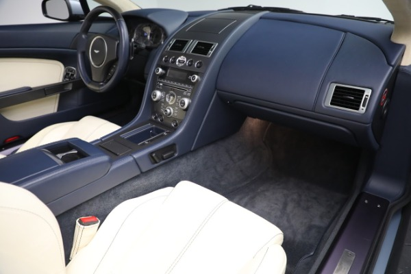 Used 2009 Aston Martin V8 Vantage Roadster for sale Call for price at Rolls-Royce Motor Cars Greenwich in Greenwich CT 06830 18