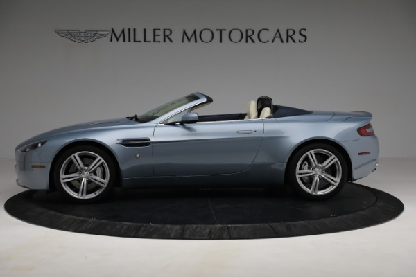 Used 2009 Aston Martin V8 Vantage Roadster for sale Call for price at Rolls-Royce Motor Cars Greenwich in Greenwich CT 06830 2