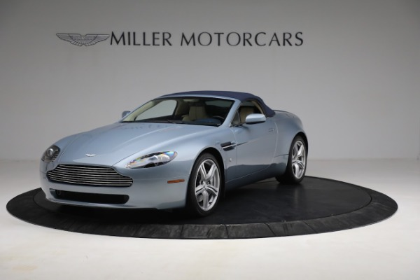 Used 2009 Aston Martin V8 Vantage Roadster for sale Call for price at Rolls-Royce Motor Cars Greenwich in Greenwich CT 06830 21