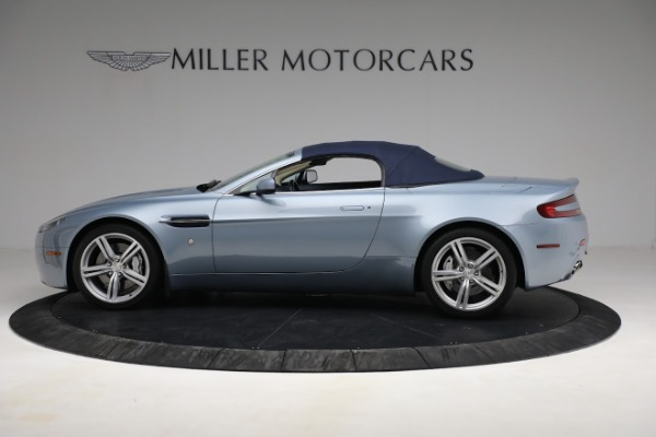 Used 2009 Aston Martin V8 Vantage Roadster for sale Call for price at Rolls-Royce Motor Cars Greenwich in Greenwich CT 06830 22