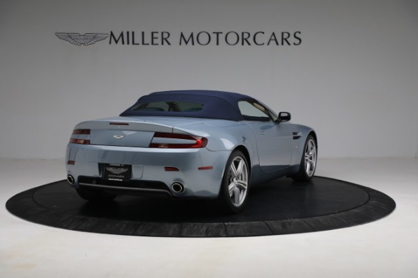 Used 2009 Aston Martin V8 Vantage Roadster for sale Call for price at Rolls-Royce Motor Cars Greenwich in Greenwich CT 06830 24