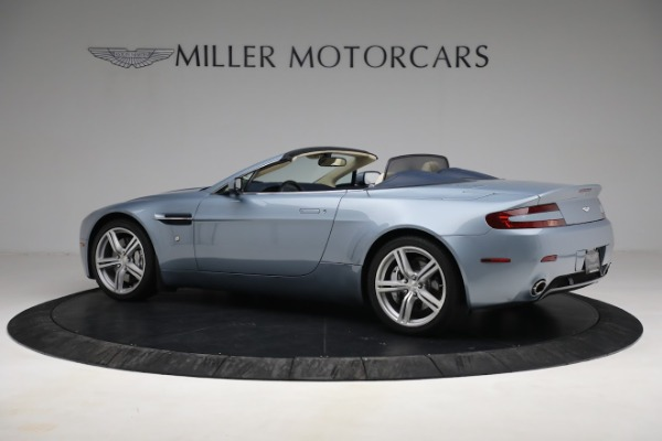 Used 2009 Aston Martin V8 Vantage Roadster for sale Call for price at Rolls-Royce Motor Cars Greenwich in Greenwich CT 06830 3