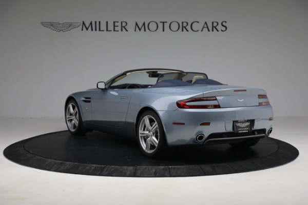 Used 2009 Aston Martin V8 Vantage Roadster for sale Call for price at Rolls-Royce Motor Cars Greenwich in Greenwich CT 06830 4
