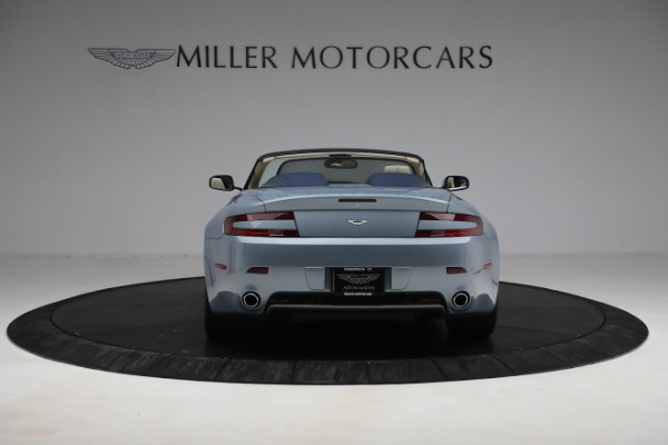 Used 2009 Aston Martin V8 Vantage Roadster for sale Call for price at Rolls-Royce Motor Cars Greenwich in Greenwich CT 06830 5