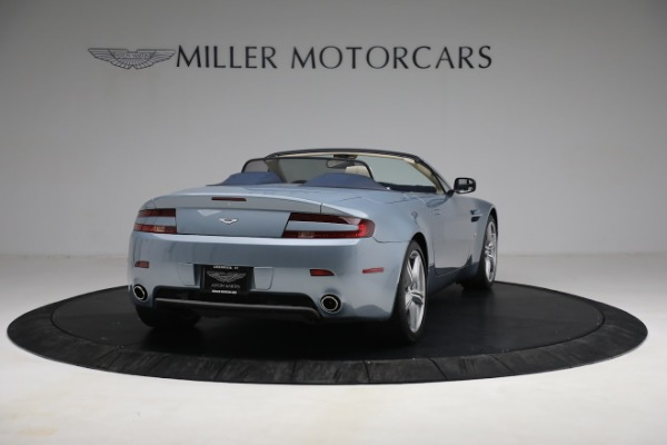 Used 2009 Aston Martin V8 Vantage Roadster for sale Call for price at Rolls-Royce Motor Cars Greenwich in Greenwich CT 06830 6