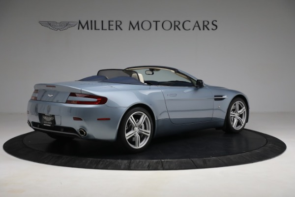 Used 2009 Aston Martin V8 Vantage Roadster for sale Call for price at Rolls-Royce Motor Cars Greenwich in Greenwich CT 06830 7