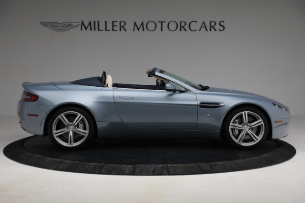 Used 2009 Aston Martin V8 Vantage Roadster for sale Call for price at Rolls-Royce Motor Cars Greenwich in Greenwich CT 06830 8