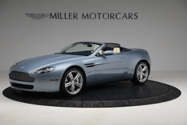 Used 2009 Aston Martin V8 Vantage Roadster for sale Call for price at Rolls-Royce Motor Cars Greenwich in Greenwich CT 06830 1