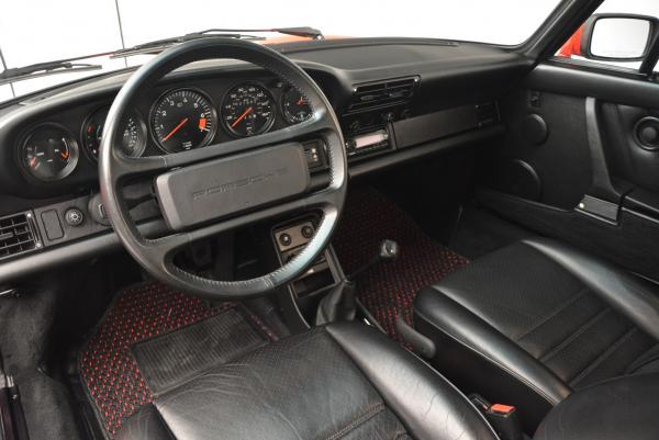 Used 1988 Porsche 911 Carrera for sale Sold at Rolls-Royce Motor Cars Greenwich in Greenwich CT 06830 13