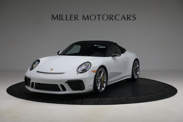 Used 2019 Porsche 911 Speedster for sale $395,900 at Rolls-Royce Motor Cars Greenwich in Greenwich CT 06830 13