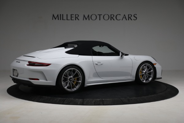 Used 2019 Porsche 911 Speedster for sale $395,900 at Rolls-Royce Motor Cars Greenwich in Greenwich CT 06830 18