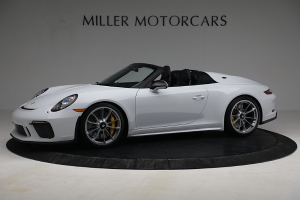 Used 2019 Porsche 911 Speedster for sale $395,900 at Rolls-Royce Motor Cars Greenwich in Greenwich CT 06830 2