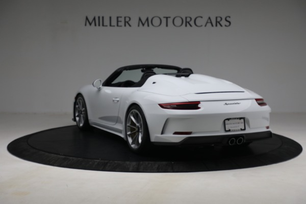 Used 2019 Porsche 911 Speedster for sale $395,900 at Rolls-Royce Motor Cars Greenwich in Greenwich CT 06830 5