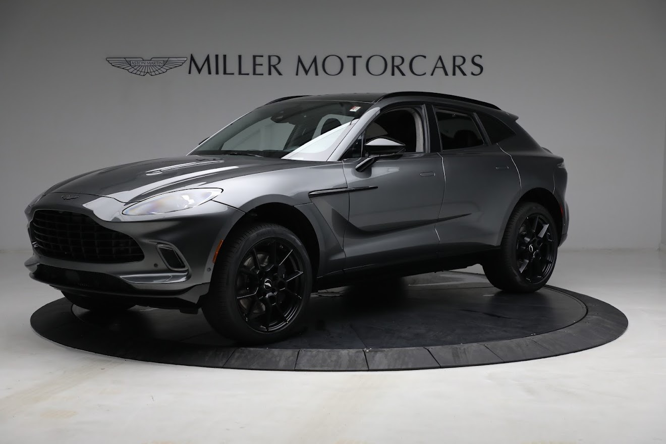 New 2021 Aston Martin DBX for sale $202,286 at Rolls-Royce Motor Cars Greenwich in Greenwich CT 06830 1