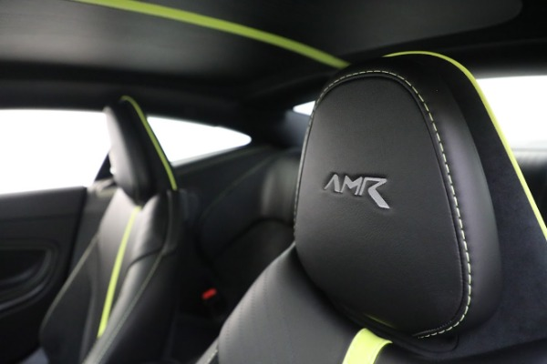 Used 2019 Aston Martin DB11 AMR for sale Call for price at Rolls-Royce Motor Cars Greenwich in Greenwich CT 06830 17