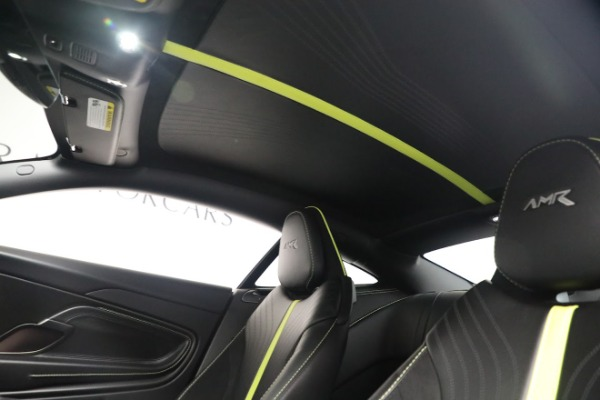 Used 2019 Aston Martin DB11 AMR for sale Call for price at Rolls-Royce Motor Cars Greenwich in Greenwich CT 06830 18