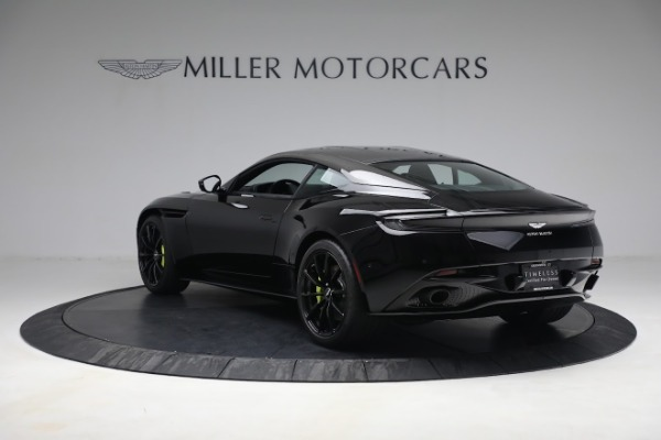 Used 2019 Aston Martin DB11 AMR for sale Call for price at Rolls-Royce Motor Cars Greenwich in Greenwich CT 06830 4