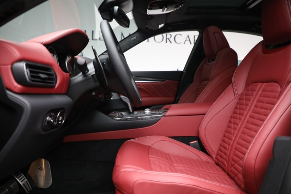 New 2022 Maserati Levante Trofeo for sale $155,045 at Rolls-Royce Motor Cars Greenwich in Greenwich CT 06830 14