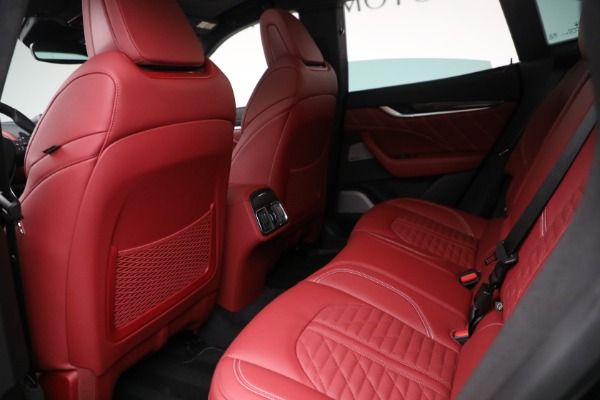 New 2022 Maserati Levante Trofeo for sale $155,045 at Rolls-Royce Motor Cars Greenwich in Greenwich CT 06830 22