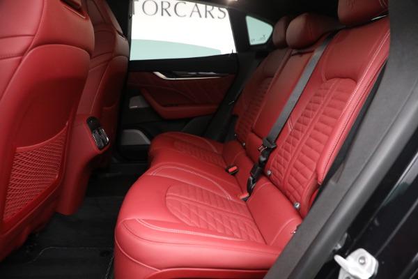 New 2022 Maserati Levante Trofeo for sale $155,045 at Rolls-Royce Motor Cars Greenwich in Greenwich CT 06830 23