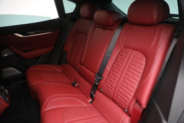 New 2022 Maserati Levante Trofeo for sale $155,045 at Rolls-Royce Motor Cars Greenwich in Greenwich CT 06830 24
