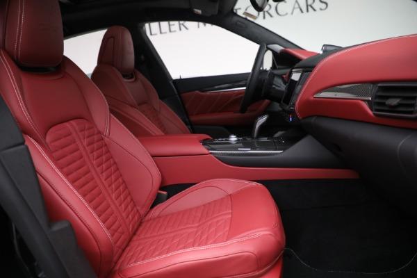 New 2022 Maserati Levante Trofeo for sale $155,045 at Rolls-Royce Motor Cars Greenwich in Greenwich CT 06830 27