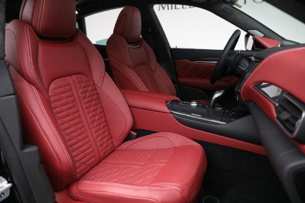 New 2022 Maserati Levante Trofeo for sale $155,045 at Rolls-Royce Motor Cars Greenwich in Greenwich CT 06830 28