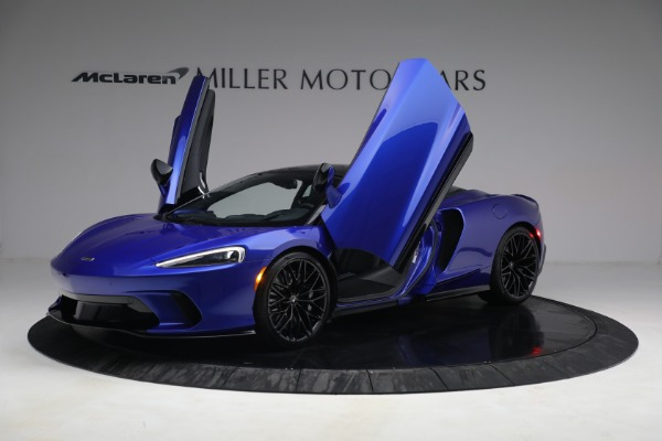New 2022 McLaren GT Luxe for sale $228,080 at Rolls-Royce Motor Cars Greenwich in Greenwich CT 06830 14