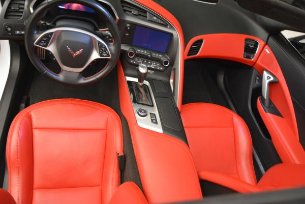 Used 2014 Chevrolet Corvette Stingray Z51 for sale Sold at Rolls-Royce Motor Cars Greenwich in Greenwich CT 06830 17